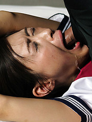 Bounded japanese slut takes it deep