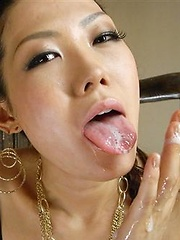Japanese adult model Yui Komine