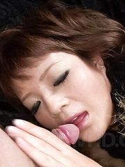 Kurara Iijima Asian has pussy fingered and rubbed before fucking